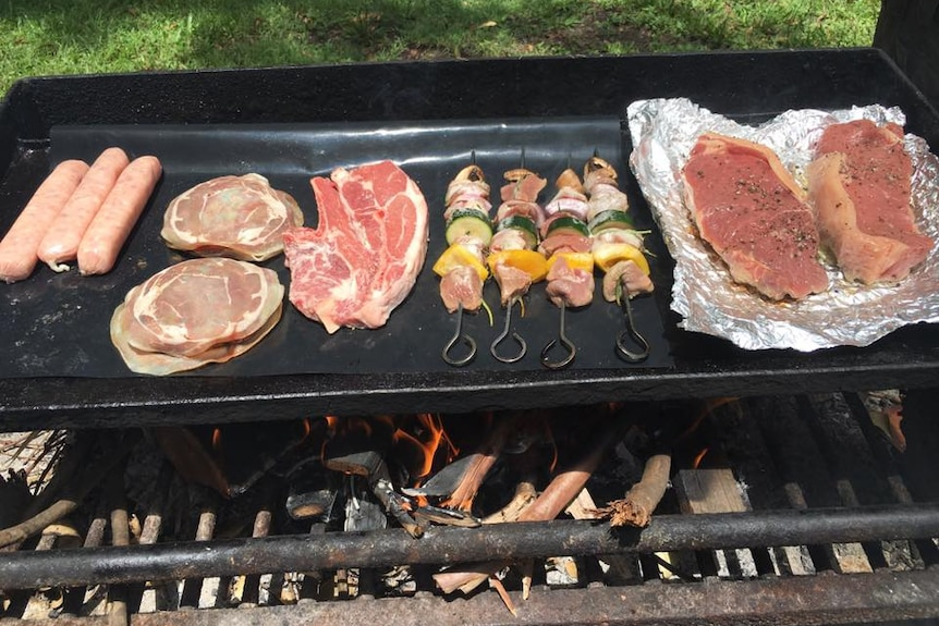 Meat on the barbie