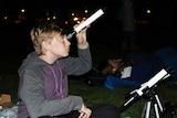 Alex McDonald, stargazing