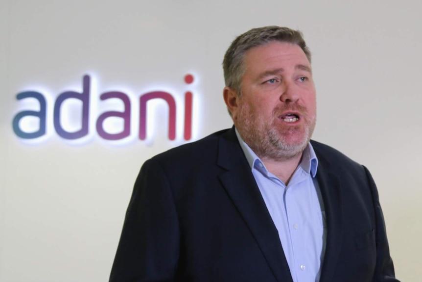 Adani Australia mining CEO Lucas Dow