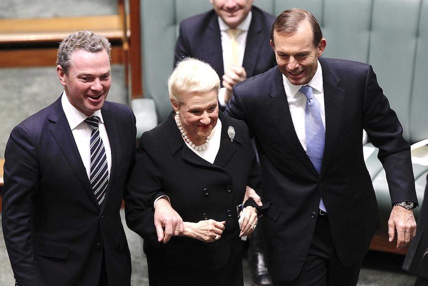 Like Tony Abbott, Bronwyn Bishop has announced she's going nowhere.