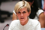 """Julie Bishop says Australia will continue its """"positive campaign"""" for a seat."""