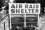 Air raid shelter Hyde Park