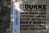 OVer 40 degrees in Bourke