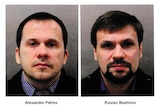 Czech police said they were looking for two men who travelled to the Czech Republic days before the blast.