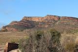 A photo of the Flinders Rangers landscape