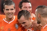 Clouded future? ... John Aloisi has reassured the Roar players they will be fully paid
