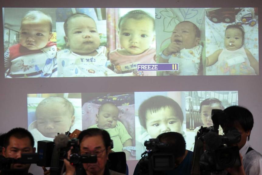 Surrogate babies in Thailand