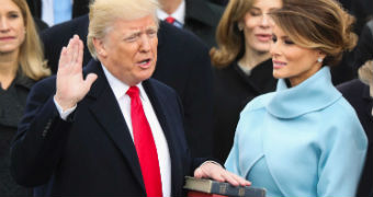 DonaldTrumpis sworn in as the 45th president of the United States.