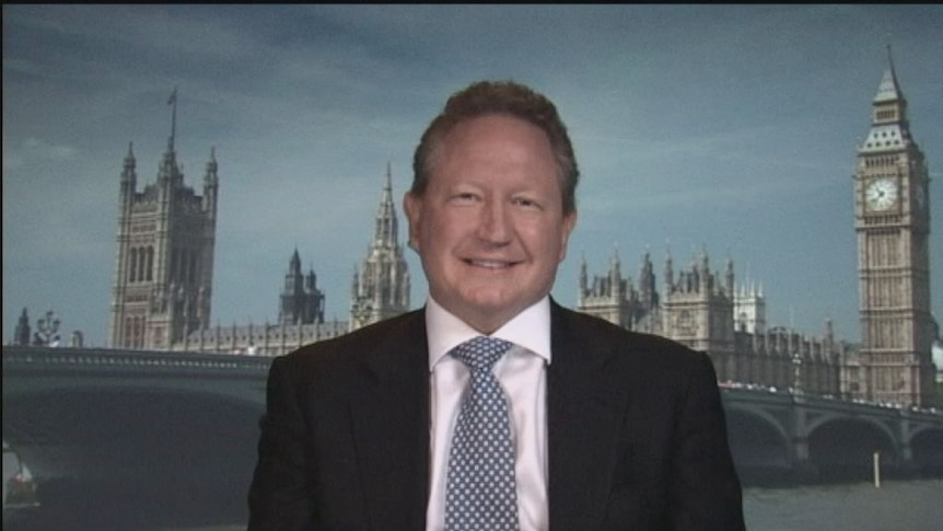 Andrew Forrest speaks to ABC News 24
