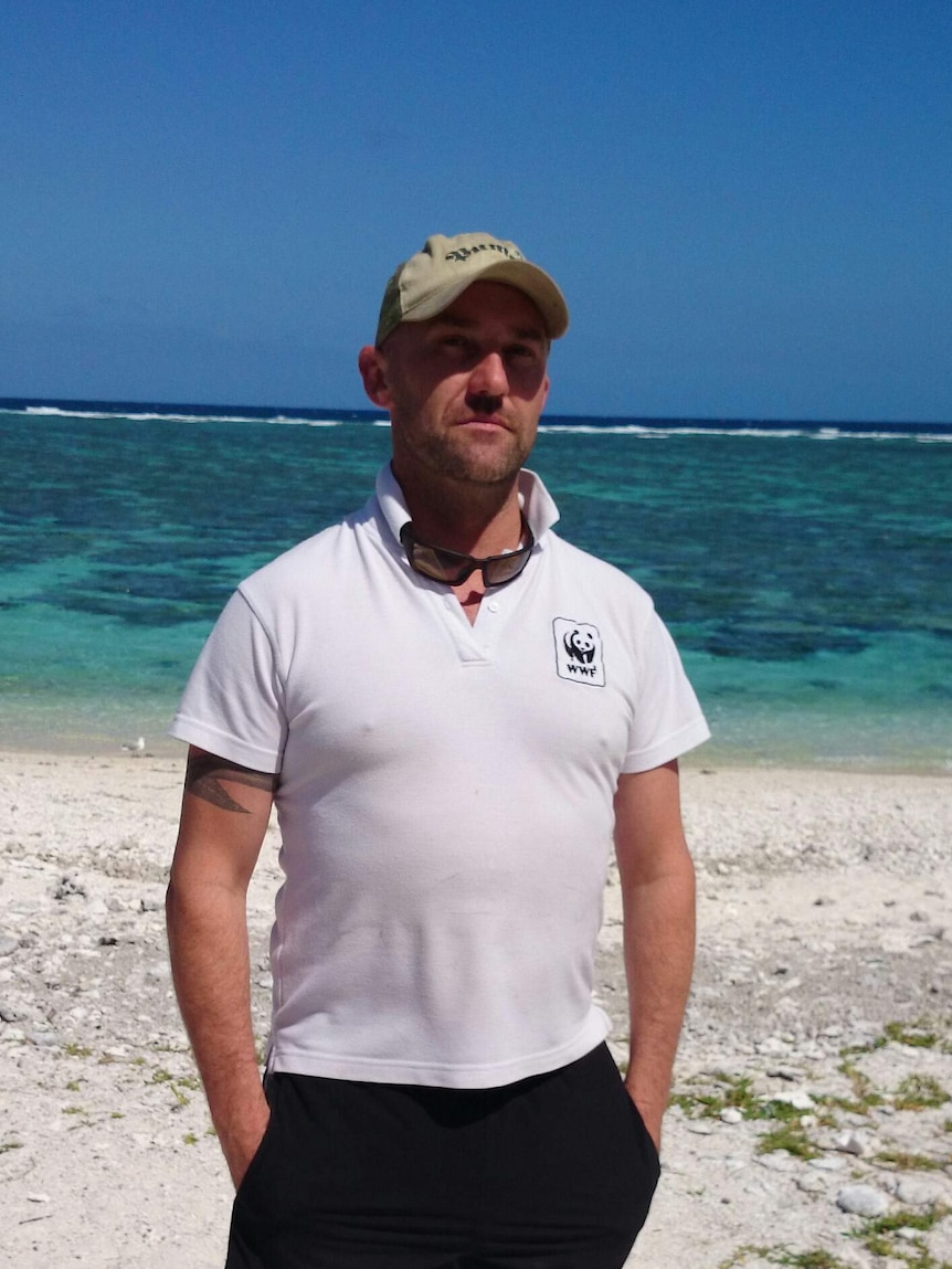 Sean Hoobin from the WWF.
