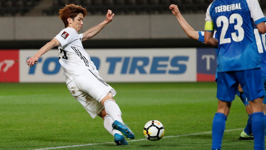 Mongolia hammered 14-0 by Japan in one-sided World Cup qualifier