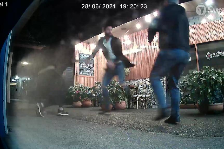 Fight at Forster restaurant