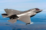 Joint Strike Fighter pictured over in US