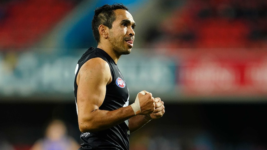 'My work is done here': AFL legend Eddie Betts announces retirement