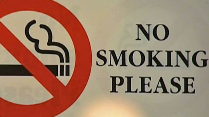 Smoking will be banned in all outdoor eating and drinking areas.