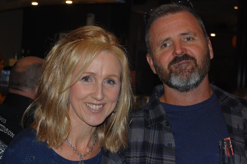 Kylie Carberry and her husband Graeme