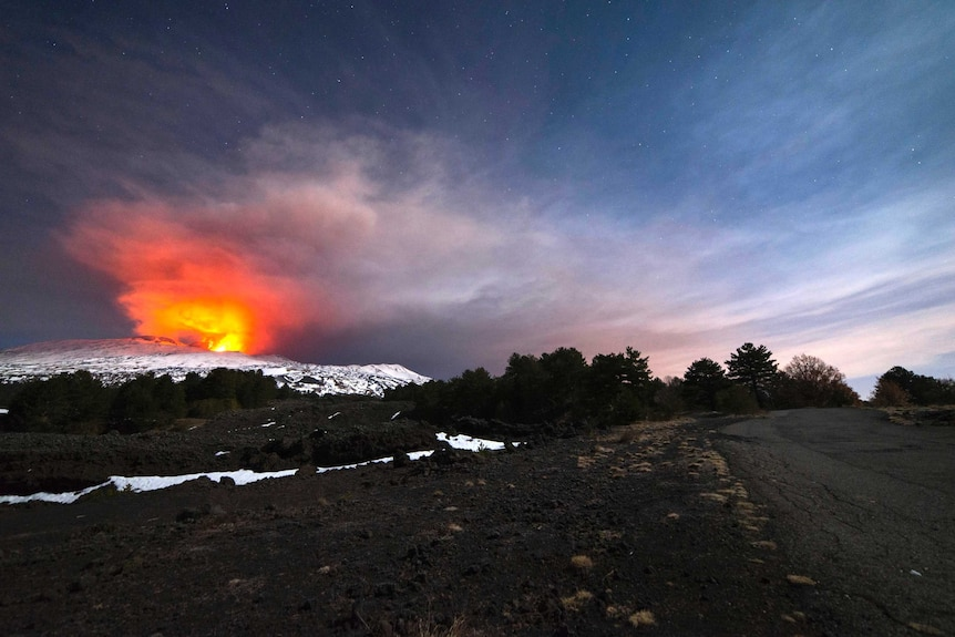 Mount Etna erupts for first time in 2017
