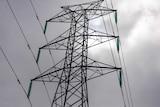 A closeup photo of a powerline.