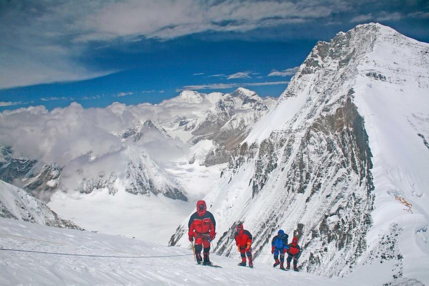 Adelaide's Katie Sarah on Mount Everest