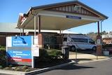 North-west Regional Hospital Burnie Tasmania, close up