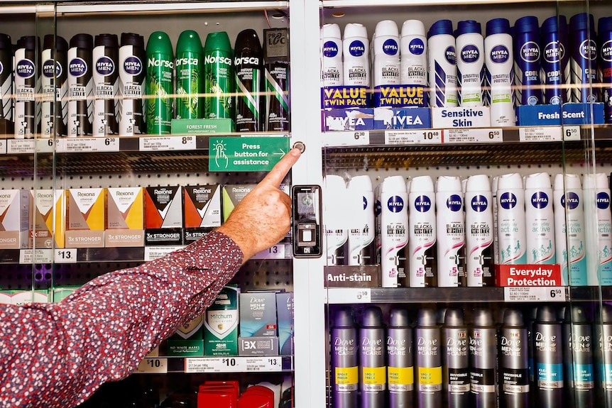 Similar cabinets will be progressively rolled out across all Woolworths' Northern Territory stores by the end of next month.
