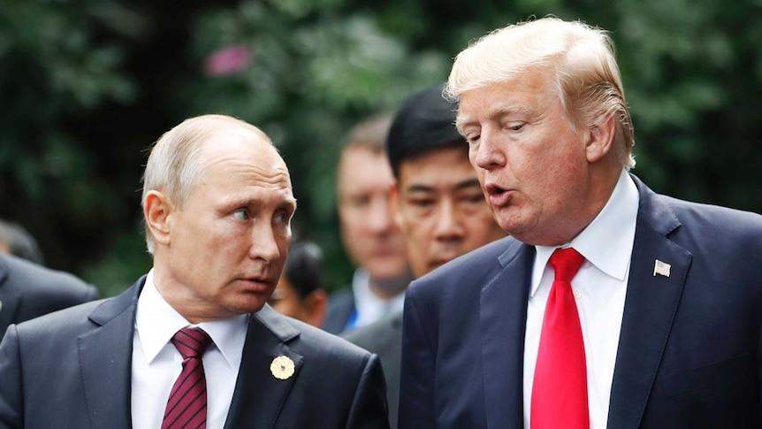 A look back at Donald Trump and Vladimir Putin's 'relationship'