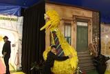 Kids at Sesame Street show pleased to see Big Bird's return