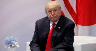 Donald Trump at G20 summit.