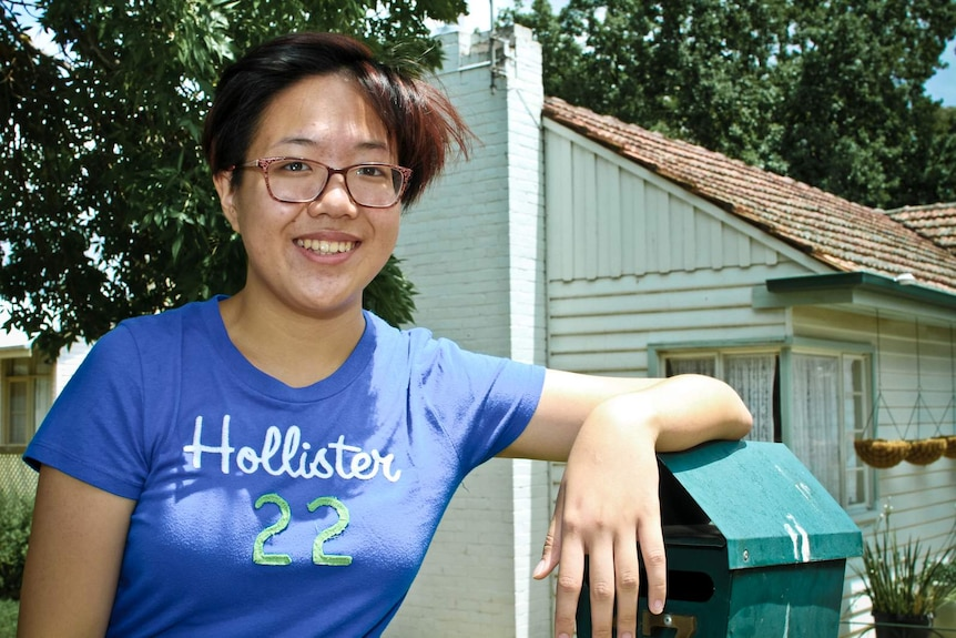 Central Victorian Heywire winner 17-year-old Kelly Phan