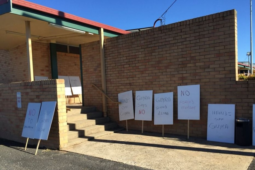 Guyra residents initially opposed a merger