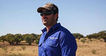 Cattle grazier Jack Neilson