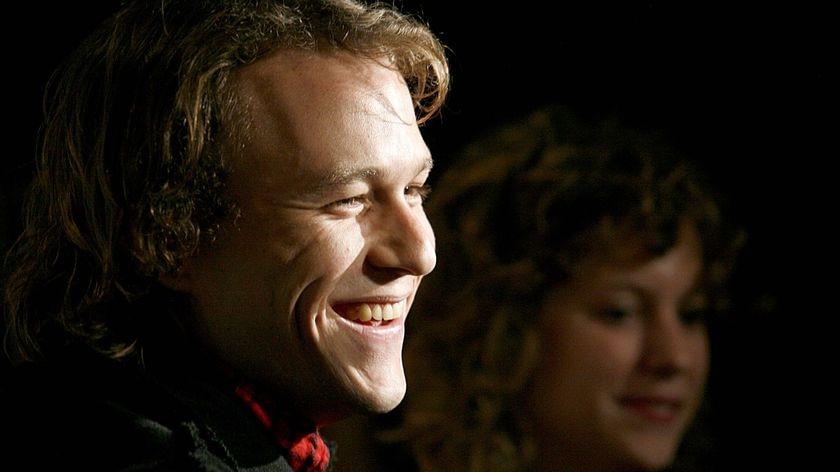 Actor Heath Ledger
