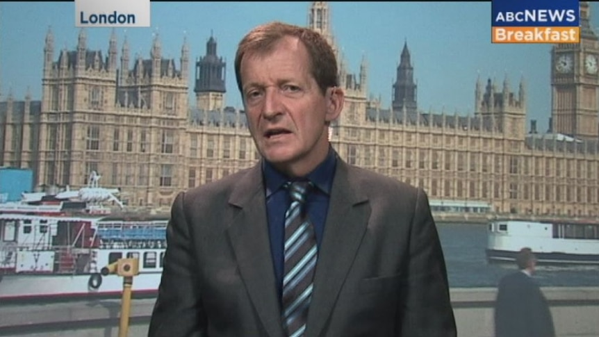 """Alastair Campbell labels Brexit """"catastrophically stupid"""""""