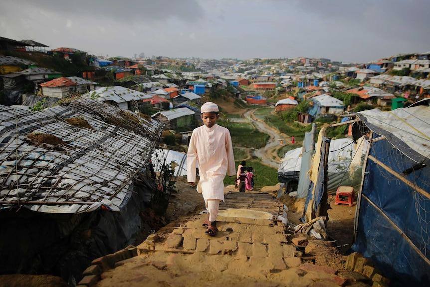 Rohingya child