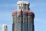 Construction of the 1 William Street skyscraper in Brisbane on April 9, 2015