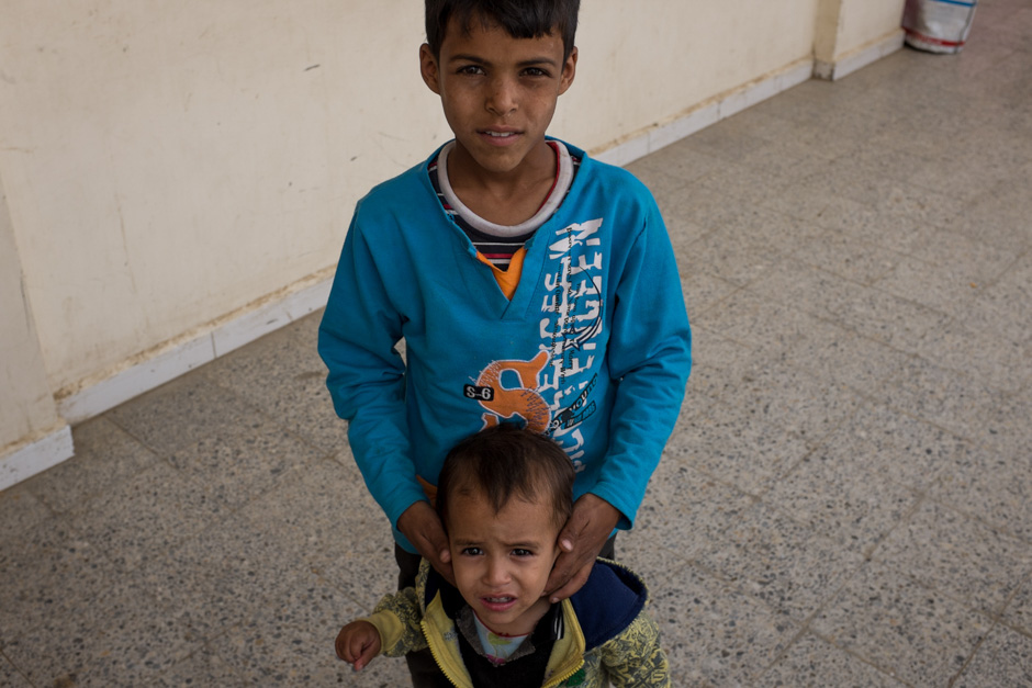 Two brothers in the Zubairy school.