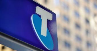 Telstra sign