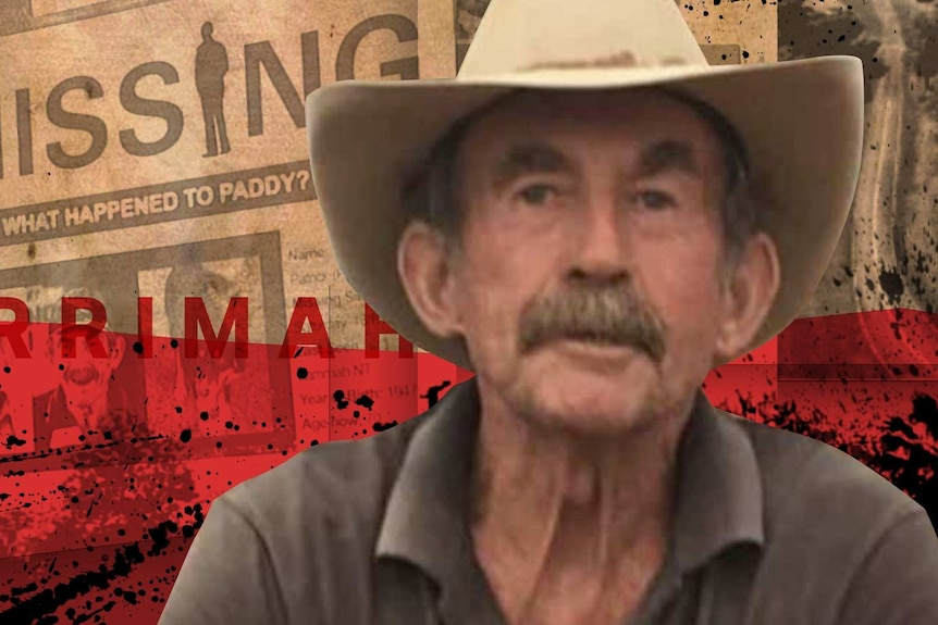 An image that shows an older man with a moustache wearing a wide-brimmed hat is set against a background of newspapers.
