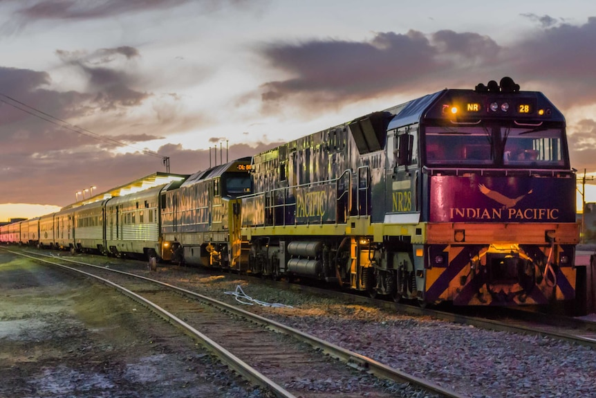 Great Southern Rail's The Indian Pacific travels between Sydney, Adelaide and Perth, August 6, 2015