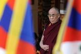 The Dalai Lama offers prayers