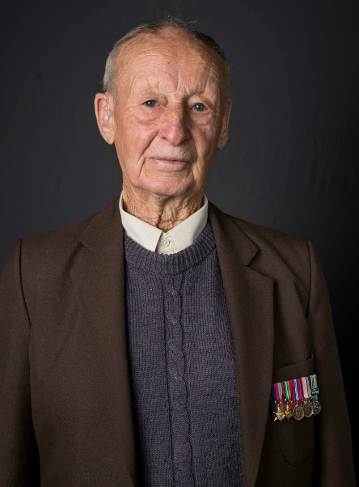 Veteran Cecil Fish was a Sapper in the Army and a member of 1 Field Squadron.