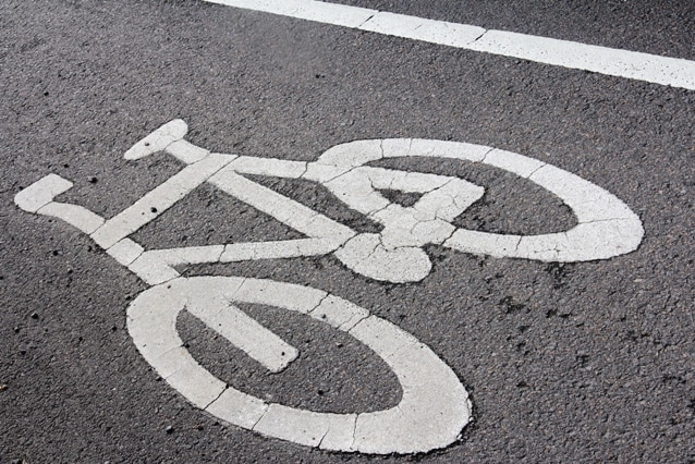 Roadway cycle path; cycleway; cyclist, pedestrian generic