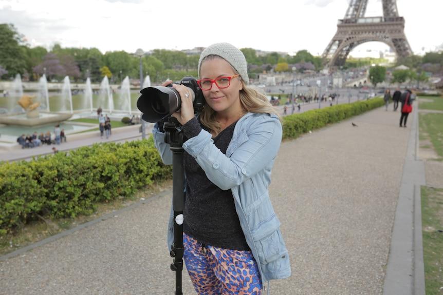 Taryn Brumfitt in Paris.