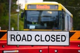 Road closed after Queensland and NSW border shuts amid Sydney COVID-19 outbreak on July 23, 2021