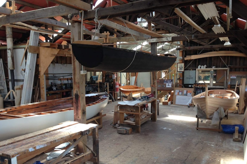 Wooden Boat Centre, Franklin