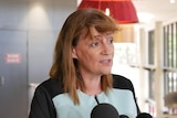Headshot photo of Townsville Mayor Jenny Hill.