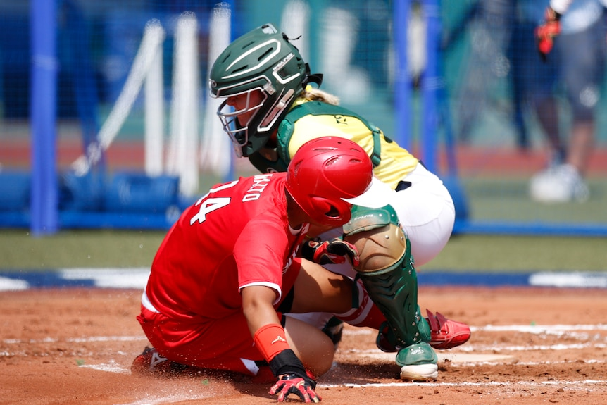 Australia and Japan in opening game of softball at 2020 Olympics