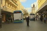 Perth city mock tram