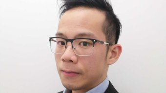 A portrait of a man with a Chinese appearance.