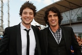 Comedians Hamish Blake and Andy Lee got their starts on community television.